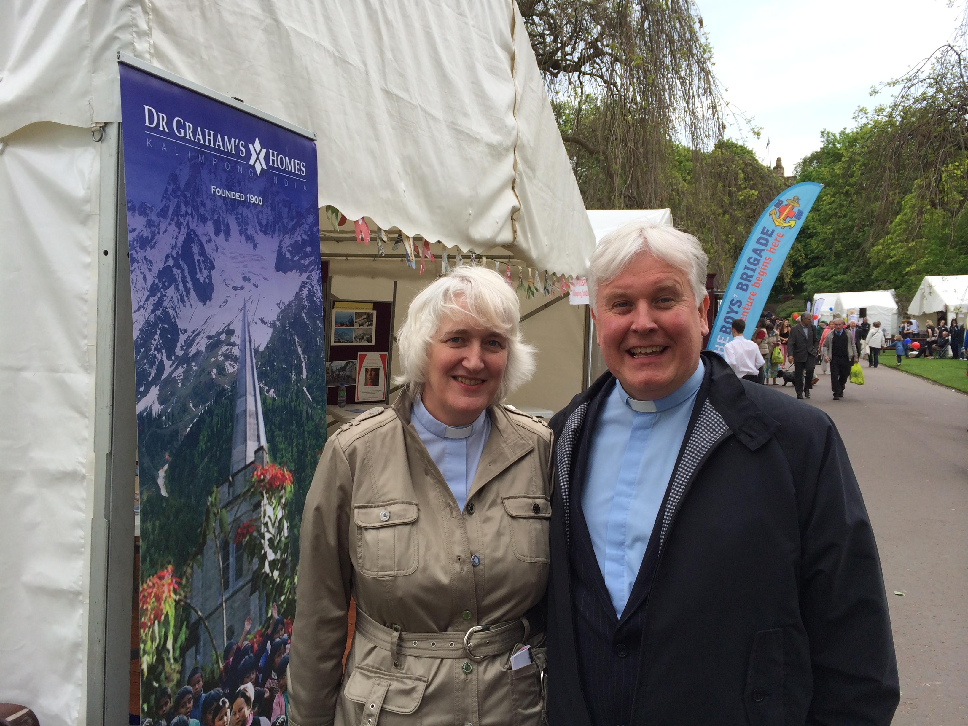 Rev Jim Jack and  Rev Elizabeth Jack