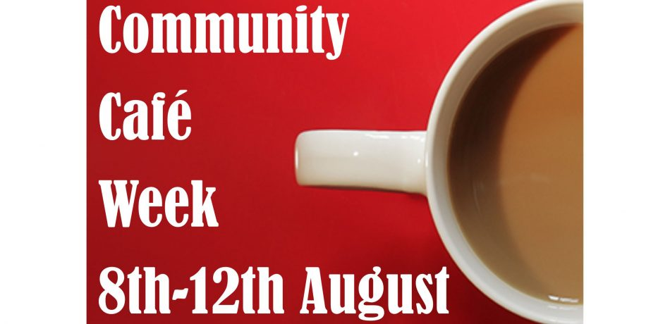 Community Cafe Poster 2016