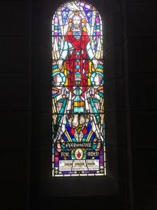 image of church window