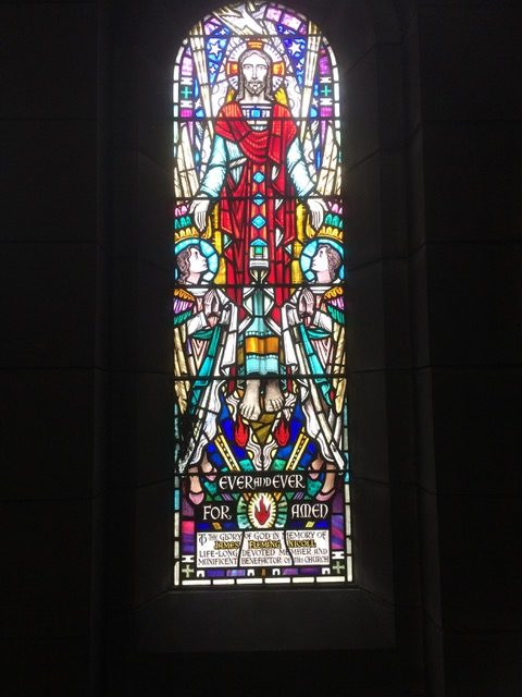 image of church window